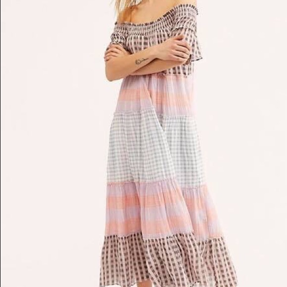 Free People Dresses & Skirts - Free People plaid dress. Size xl